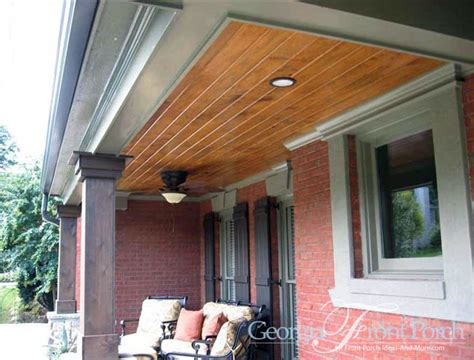 Natural Stone For Home Exterior - stylish front porch designs