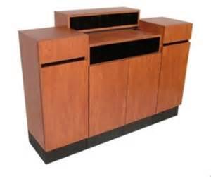 Standing Reception Desk Collins Reve Standing Reception Desk