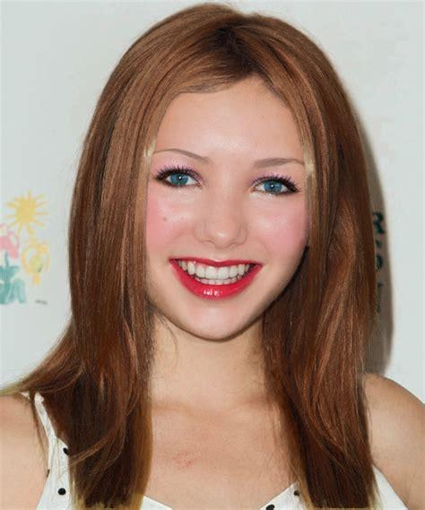 List Makeup Makeover peyton list mahogany hair color and almay pink 010 smart shade blush for cheeks