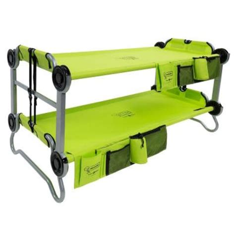 disc o bed disc o bed kid o bunk 65 in lime green bunk beds with