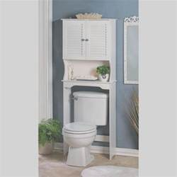 Bathroom Cabinet Above Toilet Bathroom Storage The Toilet White Cabinet Organizer Shelf New Ebay