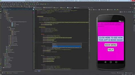 wallpaper android studio android code how to change the background and text color