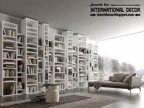 Top modern home library design organizing ideas furniture multi level