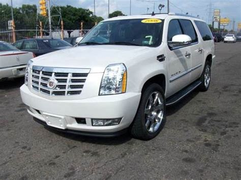 Cadillac Escalade For Sale In Michigan by Cadillac Escalade Esv For Sale Michigan Carsforsale
