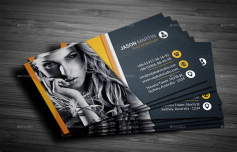 professional photography templates photography business card by vejakakstudio graphicriver