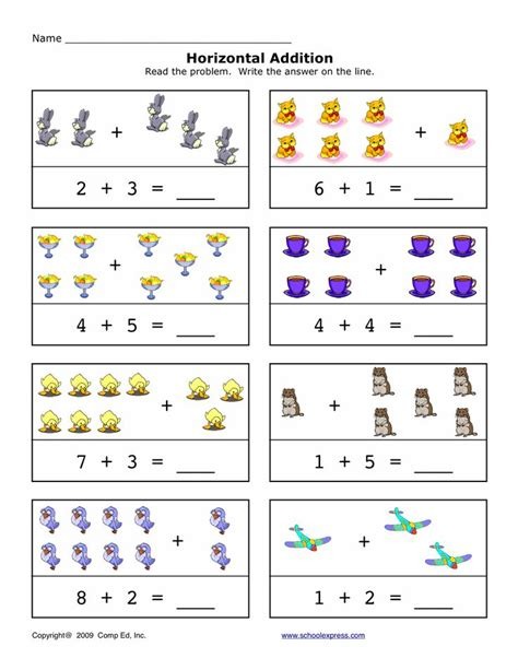 Create Algebra Worksheets by 17 Best Images About Horizontal Addition On
