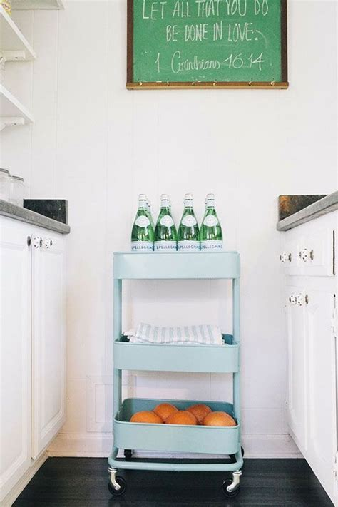picture of smart ways to use ikea raskog cart for home storage 60 smart ways to use ikea raskog cart for home storage