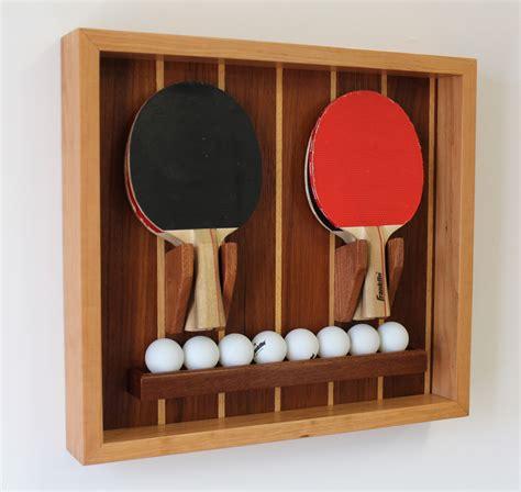 make a custom ping pong paddle holder design