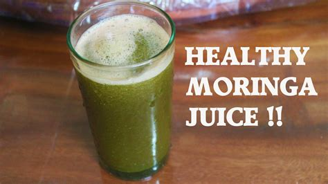 Moringa Detox Recipe moringa detox juice recipe liver flush