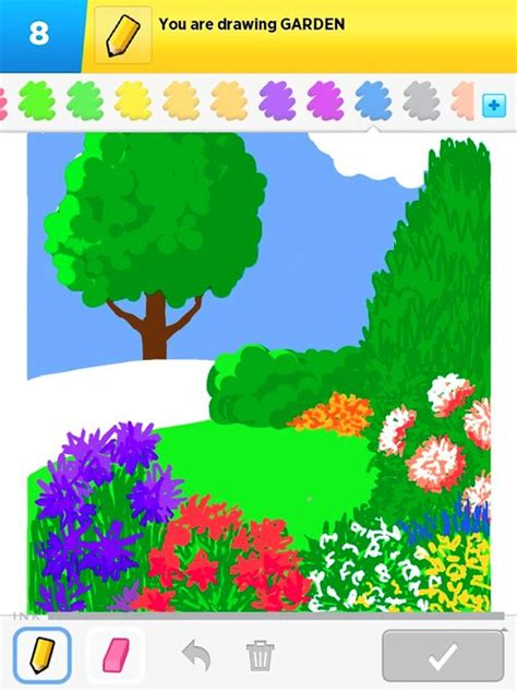 drawing of garden garden drawings how to draw garden in draw something