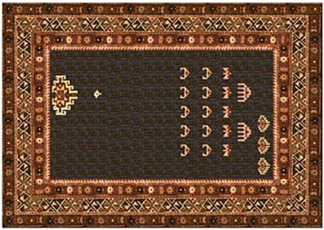 space invaders rug three beautiful things thursday a space invaders prayer rug hijabman