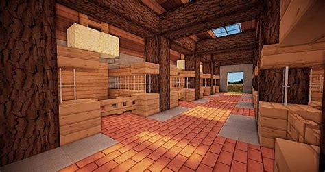 Modern Horse Stable Minecraft Project
