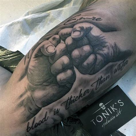 blood is thicker than water tattoo 55 family ideas nenuno creative