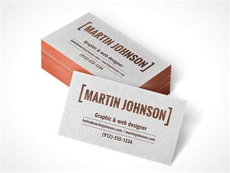 letterpress business card psd mockup template letterpress business card stack psd mockup psd mockups