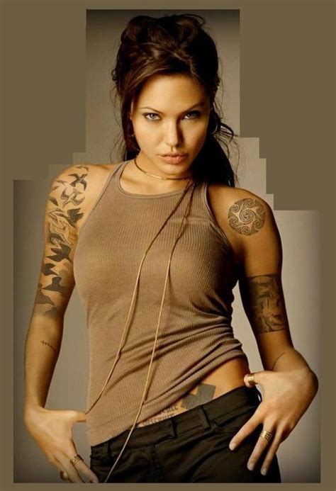 angelina jolie tattoo model 480 best images about tattoo girls on pinterest inked