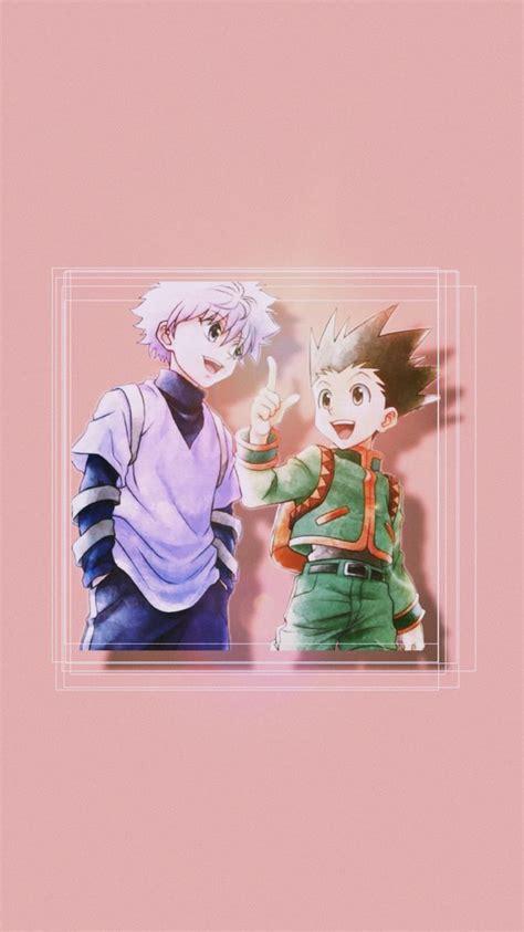 killua  gon   anime wallpaper iphone cute