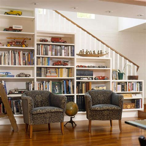 basement stairs storage ideas
