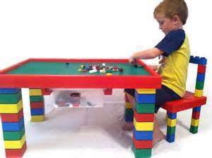 children s table and chair lego table by