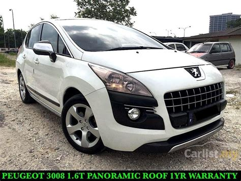 peugeot suv 2012 peugeot 3008 2012 1 6 in selangor automatic suv white for