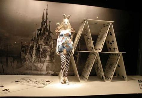 Printemps Paris Alice in Wonderland store windows salute fashion and whimsy Sharon Haver
