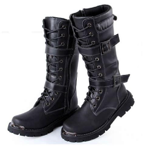 Sepatu Jungle Boot mens mid calf boots winter jungle type black tactical combat work shoes ebay