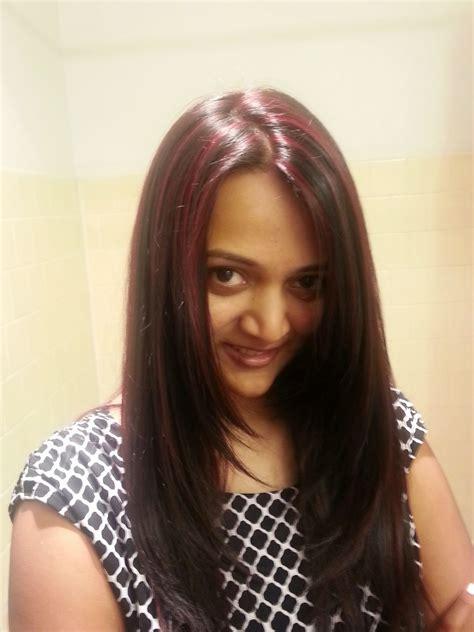 indian skin hair color red highlights 2 ananya tales