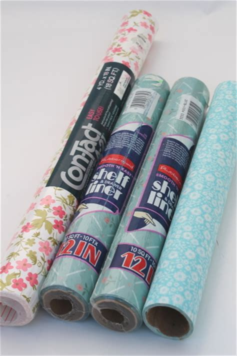 vintage pattern contact paper vintage shelf paper contact paper lot in retro flowers
