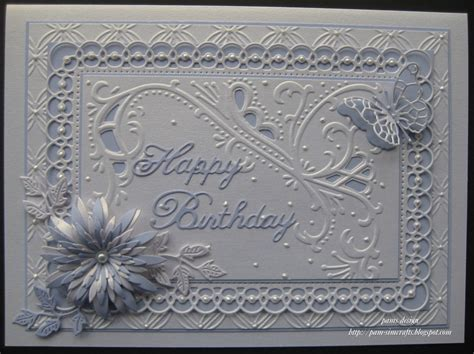 marianne design happy birthday pamscrafts birthday cards