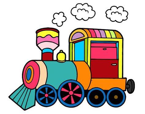 imagenes infantiles tren dibujo de tren pintado por leandro06 en dibujos net el d 237 a