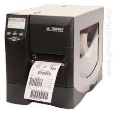 Printer Zebra Zm400 zebra zm400 barcode printer