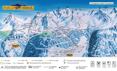 a d ski map val d anniviers switzerland
