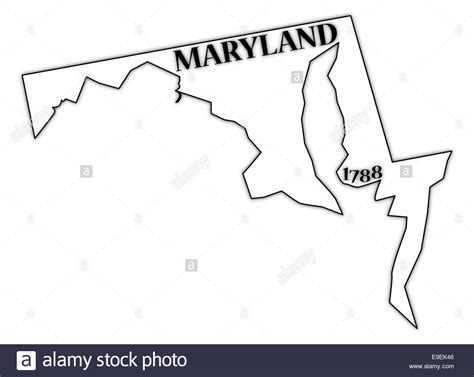 map of maryland outline list of synonyms and antonyms of the word maryland outline