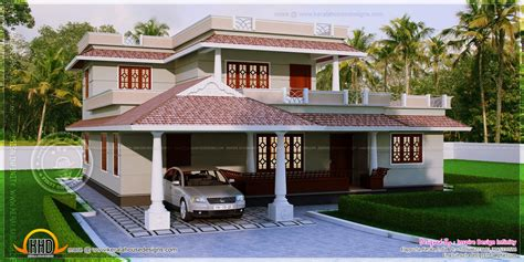 house design kerala style free 4 bedroom kerala style house in 300 square yards home
