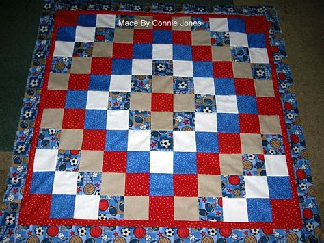 Sports Quilts For Boys by Sports Baby Boy Quilt For A Friend All Friends Were