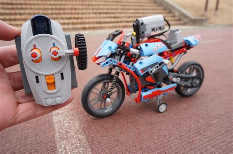 Lego 42036 Technicstreet Motorcycle Technic lego technic 42036 rc motorized motorcycle by 뿡대디