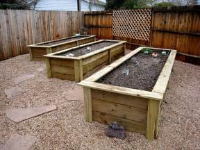 Building A Planter Box Against House by How To Build Garden Boxes