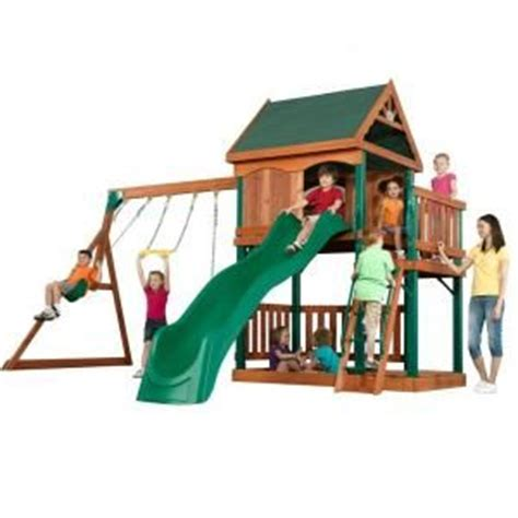 home depot swing set kit 13 best images about outdoor playsets on pinterest