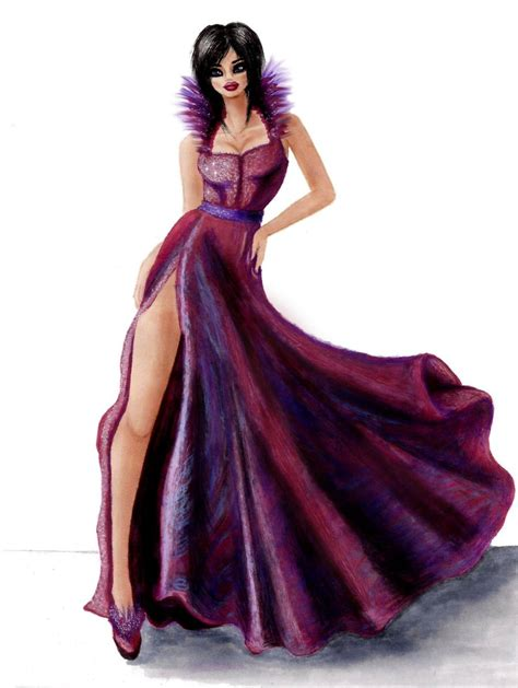 fashion illustration dress fashion illustration 9 by anya on deviantart