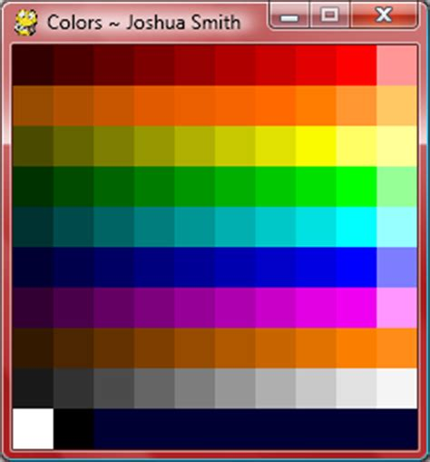 library colors colors a color library for pygame