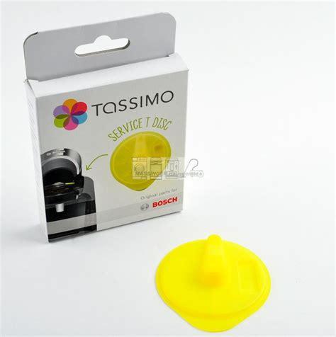 Tassimo Entkalker Disc by Bosch Tassimo Service T Disc Gelb Reinigung Entkalkung
