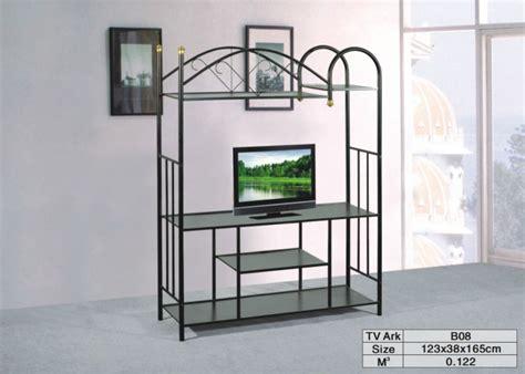 Rak Tv Besi Tempa besi tempa tv berdiri dipimpin tv berdiri kayu tv rak