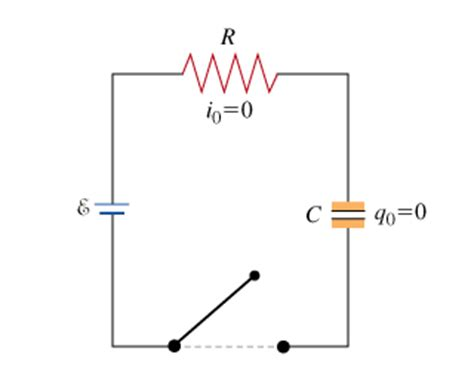 voltage across capacitor and resistor in series consider a series circuit containing a resistor of chegg