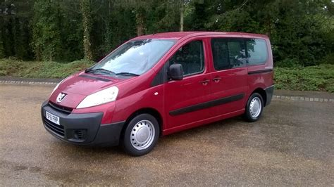 buy second peugeot peugeot expert wheelchair access cars buy second