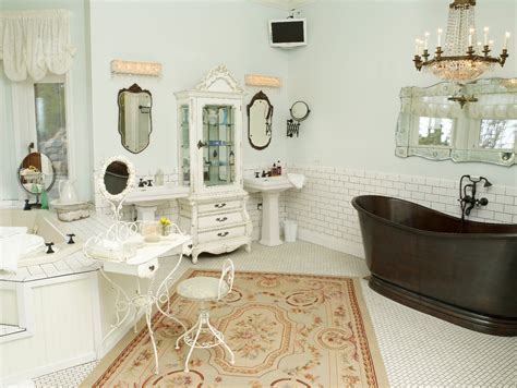 Decorating Ideas For Vintage Bathrooms Vintage Bathroom Wall Decor Bathroom Decor Vintage Shabby