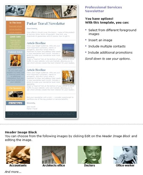 professional newsletter templates 45 best images about newsletter templates on