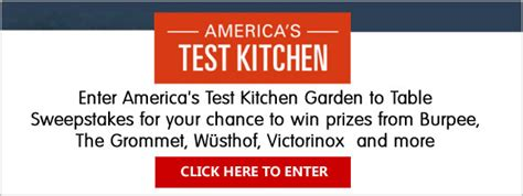 America S Test Kitchen Magazine by Giveaways And Sweepstakes Magazine Sweeps And Prizes