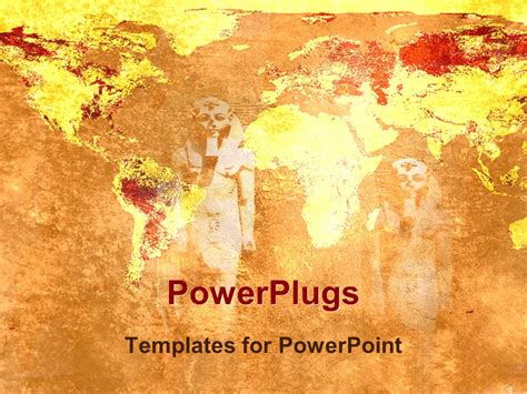 ancient powerpoint template powerpoint template ancient statues statues