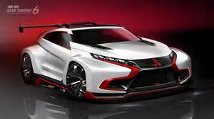 Mitsubishi Vision Mitsubishi Xr Phev Evolution Vision Gran Turismo Concept