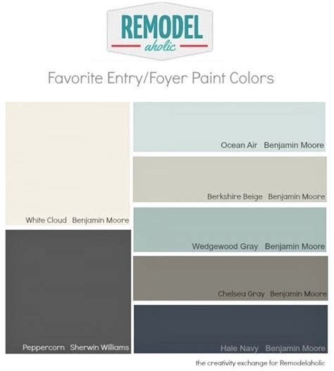 foyer colors favorite entry way and foyer paint colors remodelaholic