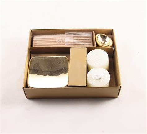 acquisto candele on line il rustico kit regalo candele e bruciaincenso articoli